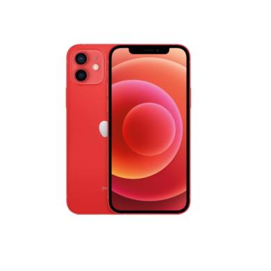 Apple Iphone 12 128GB piros, kártyafüggetlen, 1 év gyártói garancia