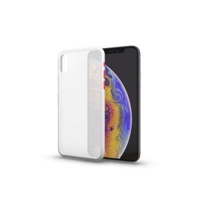 Xproector Matt tok színes gombokkal átlátszó Huawei P30 Lite