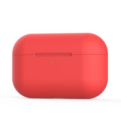 Airpods Pro V2 szilikon tok piros