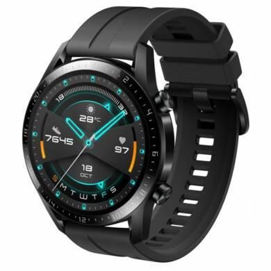 Huawei Watch GT 2 Sport 46mm fekete, 2 év gyártói garancia