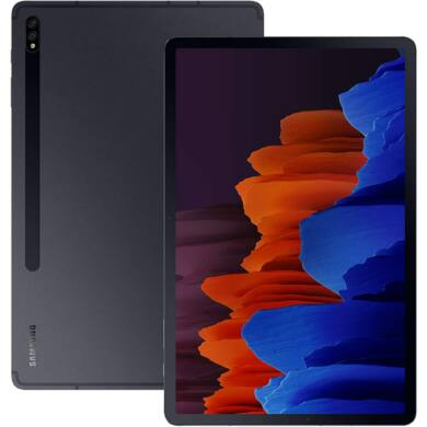 Samsung Galaxy Tab S7+ T970N 12.4 128GB Wifi fekete, 1 év gyártói garancia