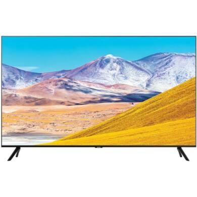 """Samsung 55"""" UE55TU8072, 4K UHD, Smart QLED TV, fekete, 1 év gyártói garancia"""