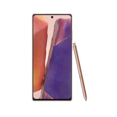 Samsung Galaxy Note 20 5G N981 Dual SIM 256GB, bronz, Kártyafüggetlen, 1 év Gyártói garancia