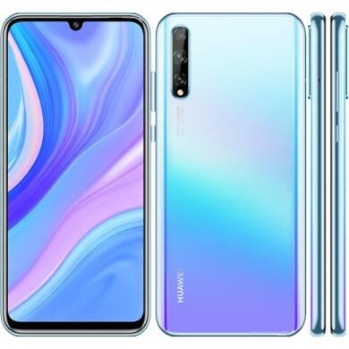 Huawei P Smart S 128GB Dual SIM, jégkristály kék, Kártyafüggetlen, 2 év Gyártói garancia