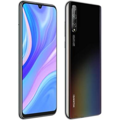 Huawei P Smart S 128GB Dual SIM, fekete, Kártyafüggetlen, 2 év Gyártói garancia