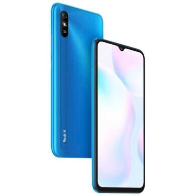 Xiaomi Redmi 9A 2GB 32GB Dual SIM (B20), kék, Kártyafüggetlen, 1 év garancia