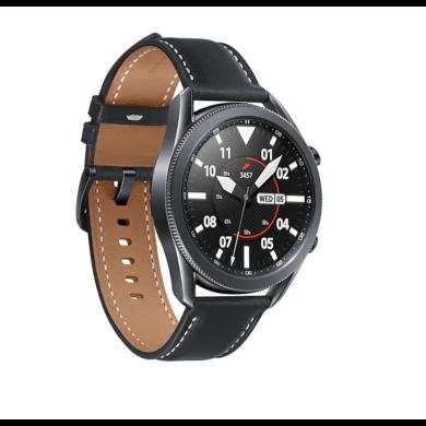 Samsung Galaxy Watch 3 45mm (R840), fekete, 1 év Gyártói garancia