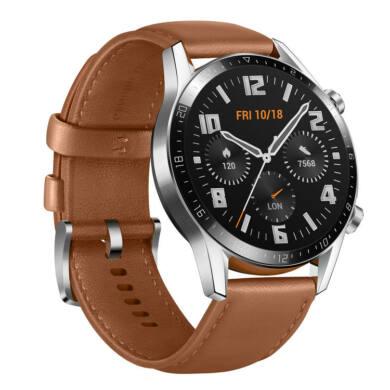 Huawei Watch GT 2 Classic 46mm barna, 1 év gyártói garancia