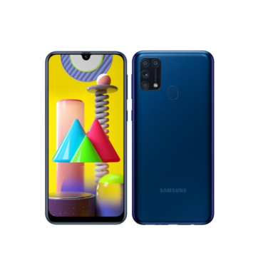 Samsung Galaxy M31 M315 Dual Sim 128GB kék, kártyafüggetlen, 1 év Gyártói garancia