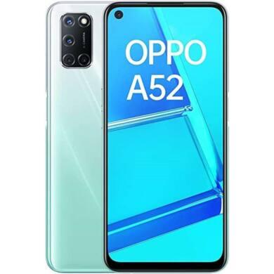 Oppo A52 4GB 64GB Dual SIM, fehér, Kártyafüggetlen, 1 év garancia