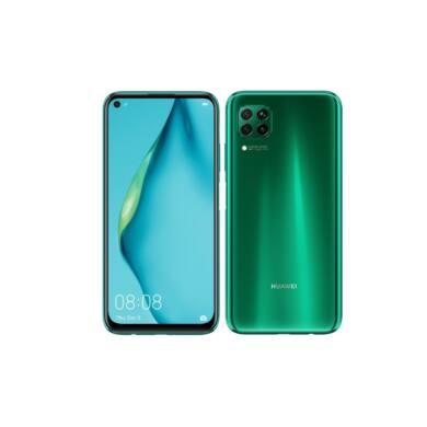 Huawei P40 Lite 128GB Dual SIM, zöld, Kártyafüggetlen, 2 év Gyártói garancia