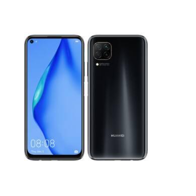 Huawei P40 Lite 128GB Dual SIM, fekete, Kártyafüggetlen, 2 év Gyártói garancia