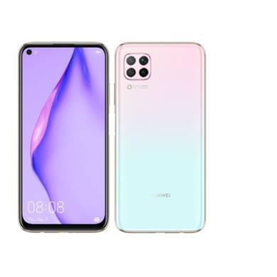 Huawei P40 Lite 128GB Dual SIM, rózsaszín, Kártyafüggetlen, 2 év Gyártói garancia