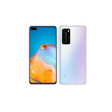 Huawei P40 Pro 256GB  Dual SIM, jégfehér, Kártyafüggetlen, 2 év Gyártói garancia