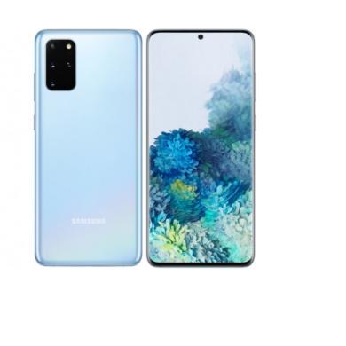 Samsung G986B Galaxy S20+ 5G 128GB 12GB Dual Sim, kék felhő, Kártyafüggetlen, 1 év gyártói garancia