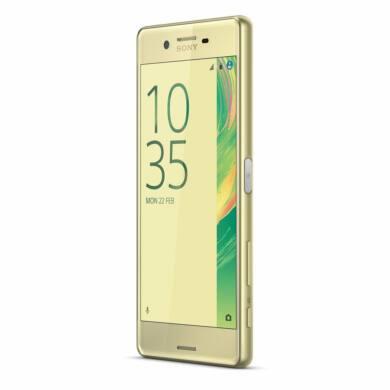Sony Xperia X (F5121) 32GB lime arany, kártyafüggetlen, 1 év gyártói garancia