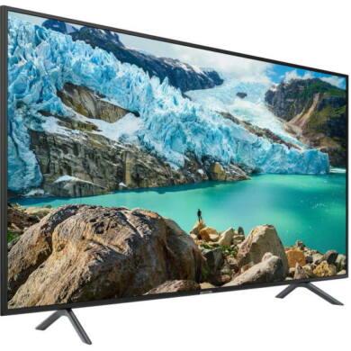 "Samsung 43"" 43RU7172, 4K UHD, Smart LED TV, fekete, 1 év gyártó garancia"