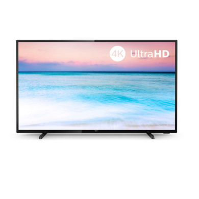 "Philips 43"" 43PUS6504, 4K UHD, Smart LED TV, fekete, 1 év gyártói garancia"