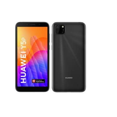 Huawei Y5P 32GB Dual Sim fekete, Kártyafüggetlen, 2 év Gyártói garancia