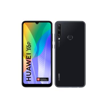 Huawei Y6P 64GB 3GB Dual Sim fekete, Kártyafüggetlen, 2 év Gyártói garancia
