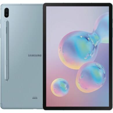 Samsung Galaxy Tab S6 T860 10.5 128GB Wifi kék, 1 év gyártói garancia
