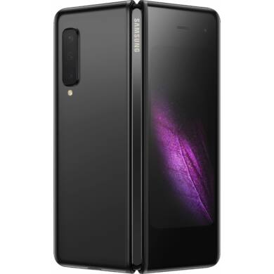 Samsung Galaxy Fold F907B, 5G, 512GB, fekete, Kártyafüggetlen, 1 év Gyártói garancia