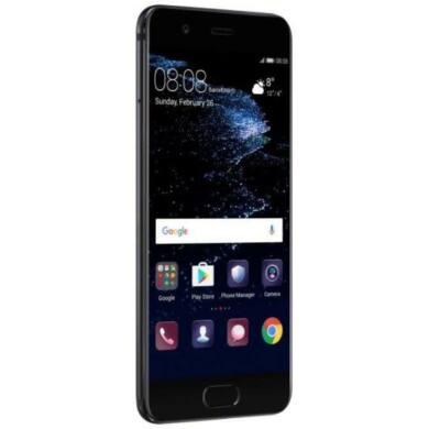 Huawei P10 64GB Dual SIM, fekete, Kártyafüggetlen,2 év  Gyártói garancia