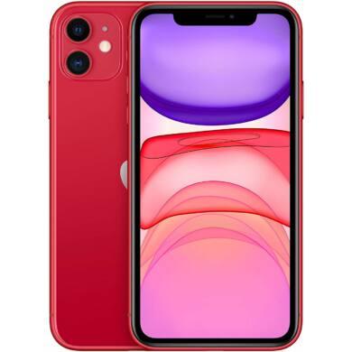Apple Iphone 11 128GB piros, kártyafüggetlen, 1 év gyártói garancia
