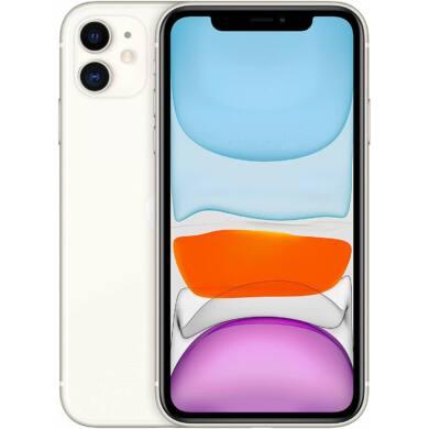 Apple Iphone 11 64GB fehér, kártyafüggetlen, 1 év gyártói garancia