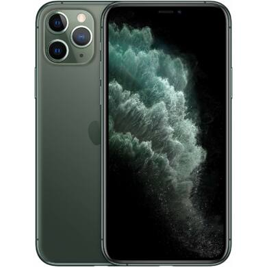 Apple iPhone 11 Pro Max 64GB zöld, Kártyafüggetlen, 1 év gyártói garanacia