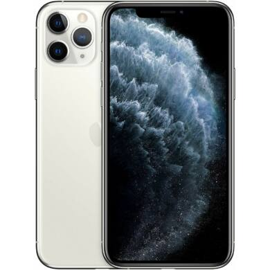 Apple iPhone 11 Pro Max 256GB ezüst, Kártyafüggetlen, 1 év gyártói garanacia