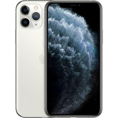 Apple iPhone 11 Pro 64GB ezüst, Kártyafüggetlen, 1 év gyártói garanacia