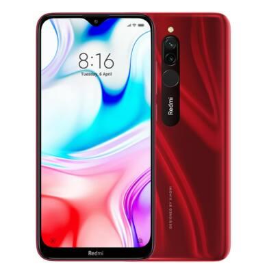 Xiaomi Redmi 8 3GB 32GB Dual-SIM (B20) piros , kártyafüggetlen, 1 év garancia
