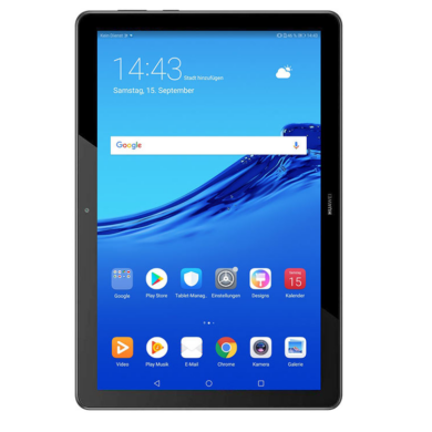 Huawei MediaPad T5 10.1 32GB Wifi fekete, 2 év gyártói garancia