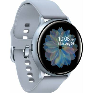 Samsung Galaxy Watch Active 2 R830 ezüst 40mm , 1 év gyártói garancia