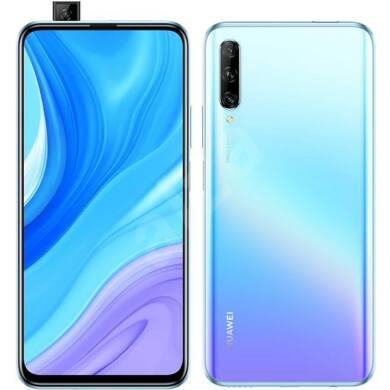 Huawei P Smart Pro (2019) 128GB Dual Sim, jégkristály kék, kártyafüggetlen, 1 év gyártói garancia
