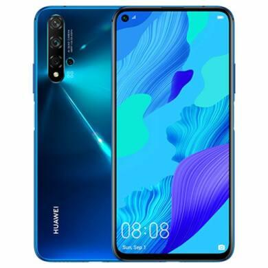 Huawei Nova 5T 128GB, kék, Kártyafüggetlen, 2 év  Gyártói garancia
