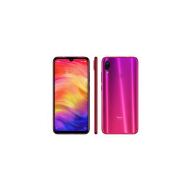 Xiaomi Redmi Note 7 4GB 128GB Dual SIM (B20), nebula piros, Kártyafüggetlen, 1 év garancia