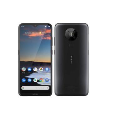 Nokia 5.3 64GB Dual Sim, fekete, Kártyafüggetlen, 1 év gyártói garancia