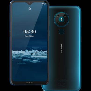 Nokia 5.3 64GB Dual Sim, kék, Kártyafüggetlen, 1 év gyártói garancia