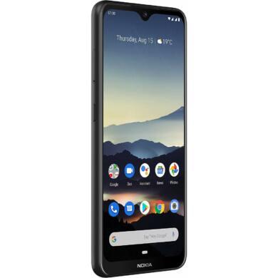 Nokia 7.2 Dual Sim, 64 GB, fekete, kártyafüggetlen, 1 év gyártói garancia