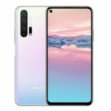 Huawei Honor 20 Pro Dual Sim 256GB (B20) fehér, kártyafüggetlen, 1 év gyártói garancia