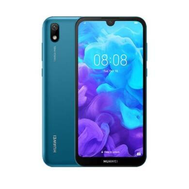 Huawei Y5 (2019) 16GB Dual SIM, kék, Kártyafüggetlen,2 év Gyártói garancia