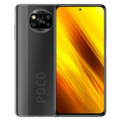 Xiaomi Poco X3 128GB Dual SIM (B20), szürke, Kártyafüggetlen, 1 év teljes körű garancia