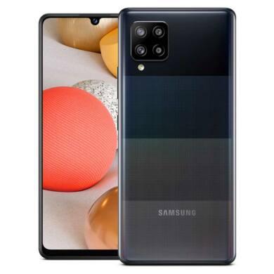 Samsung Galaxy A42 128GB 5G  Dual SIM A426B, fekete, 1 év Gyártói garancia
