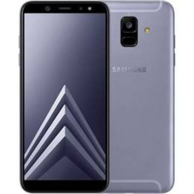 Samsung A600 Galaxy A6 (2018) 32GB, levendula, Kártyafüggetlen, 1 év Gyártói garancia