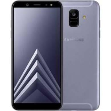 Samsung A600 Galaxy A6 (2018) 32GB, Dual Sim, levendula, Kártyafüggetlen, 1 év Gyártói garancia