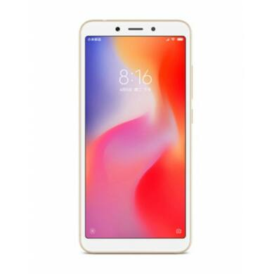 Xiaomi Redmi 6 3GB 64GB Dual SIM (B20), arany, Kártyafüggetlen, 1 év teljes körű garancia