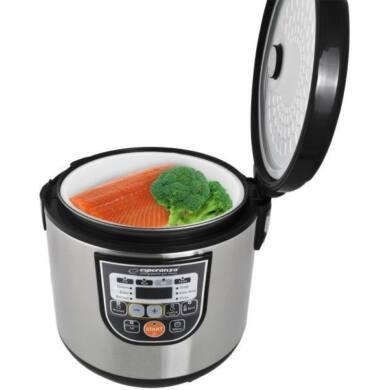 Esperanza Multicooker multifunkciós sütő és főzőedény EKG011