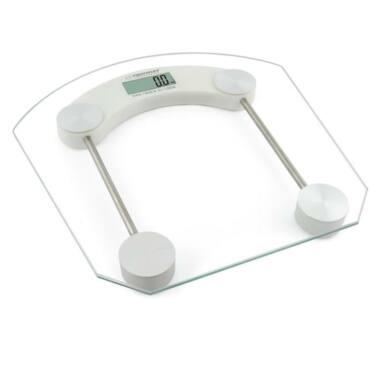 Esperanza Pilates digitális fürdőszobai személyi mérleg EBS008W, fehér